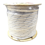 Double Braid Polyester Rope 1/2 in. x 600 ft. White-CWC 347146