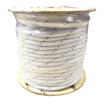 Double Braid Polyester Rope 3/8 in. x 600 ft. White-CWC 347144