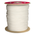 Glazed Sash Cord Size #6 3/16 in. x 1200 ft. White-CWC 120031