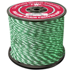 Hollow Braid Polypropylene Rope 1/4 in. x 1000 ft. Green-CWC 100304