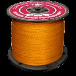 Hollow Braid Polypropylene Rope 1/4 in. x 1000 ft. Orange-CWC 100047