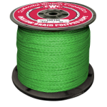 Hollow Braid Polypropylene Rope 1/4 in. x 660 ft. Green-CWC 100295