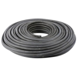 Hollow Core Rubber Rope 3/8 in. x 150 ft. Black-CWC 163110