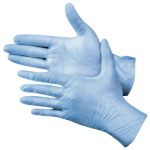 Industrial Grade - 3 Mil Blue Gloves L-CWC 510223