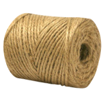 Jute Twine Tube 2-Ply Natural-CWC 045145