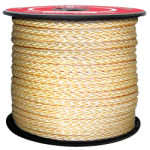 KEVLAR® Rope 12-Strand 1/2 in. x 1200 ft. Gold-CWC 353213