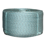 Lobster Rope 7/16 in. x 1200 ft. Teal W/Dark Blue Tracer-CWC 403125