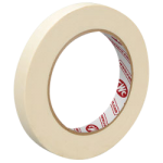 """Masking Tape 5.6 mil 1/2"""" x 60 yds Crepe-CWC 055310"""