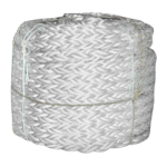 Mooring Line Poly Dacron 2-5/8 in. x 720 ft. White-CWC 406250