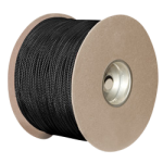 Nylon Paracord 1/8 in. x 1000 ft. Black-CWC 161110