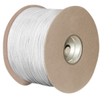 Nylon Paracord 1/8 in. x 1000 ft. White-CWC 161111