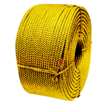 Polypropylene Oyster Rope 1/4 in. x 1200 ft. Yellow-CWC 300041