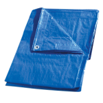 Regular-Duty Tarp 10' x 16' Blue-CWC 070623