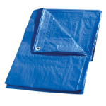 Regular-Duty Tarp 12' x 12' Blue-CWC 070628