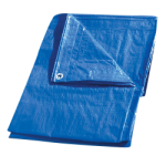 Regular-Duty Tarp 12' x 14' Blue-CWC 070627