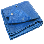 Regular-Duty Tarp 20' x 20' Blue-CWC 070638