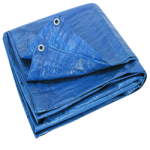 Regular-Duty Tarp 30' x 30' Blue-CWC 070645