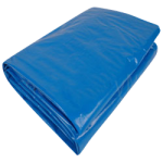 Regular-Duty Tarp 50' x 50' Blue-CWC 070658