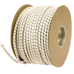 Rubber Shock Cord 1/2 in. x 150 ft. White-CWC 162040