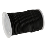 Rubber Shock Cord 1/2 in. x 250 ft. Black-CWC 162075