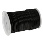 Rubber Shock Cord 3/16 in. x 250 ft. Black-CWC 162006