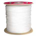 Sash Cord Size #6 3/16 in. x 1200 ft. White-CWC 124630