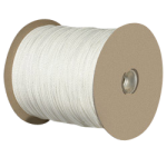 Solid Braid Crab Rope 1/4 in. x 1000 ft. White-CWC 327500