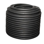 Solid Core Rubber Rope 7/16 in. x 150 ft. Black-CWC 163113