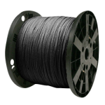 Venetian Blind Cord 1/8 in. x 3000 ft. Glazed Black-CWC 160021