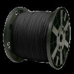 Venetian Blind Cord 9/64 in. x 3000 ft. Black-CWC 160041