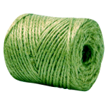 Jute Twine Tube 3-Ply Green-CWC 045155