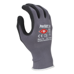 CWC ProTACT III Micro-Foam Nitrile Coated Gloves, Small