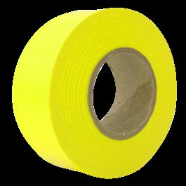 "Flagging Tape 4 mil 1-3/16"" x 150' Neon yellow - 059500 | CWC®"