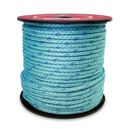 5 8 In X 600 Ft Blue Steel Rope 12 Strand 353320