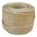 3-Strand Natural Fiber Rope 1/4 in. x 1250 ft.-CWC 200706