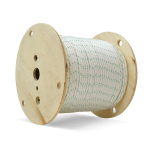 Double Braid Polyester Rope 1/4 in. x 600 ft. White-CWC 347020