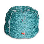 8 Braid BLUE STEEL™ Rope 1 in. x 600 ft. Teal W/Dark Blue Tracer-CWC 402118