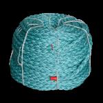 8 Braid BLUE STEEL™ Rope 2 in. x 600 ft. Teal W/Dark Blue Tracer-CWC 402155