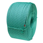 BLUE STEEL™ Floating Crab Rope 3/8 in. x 1200 ft. Teal W/Dark Blue Tracer-CWC 415305