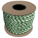 Braided MFP Halter Rope 27/64 in. x 300 ft. Green & White-CWC 115342
