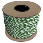 Braided MFP Halter Rope 27/64 in. x 500 ft. Green & White-CWC 115316