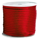 Braided MFP Halter Rope 27/64 in. x 500 ft. Red-CWC 115701