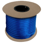 Braided MFP Halter Rope 3/8 in. x 500 ft. Blue-CWC 115300