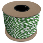 Braided MFP Halter Rope 3/8 in. x 500 ft. Green & White-CWC 115315