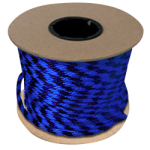 Braided MFP Halter Rope 5/8 in. x 200 ft. Royal Blue & Purple-CWC 115486
