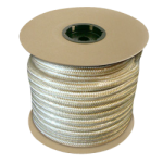 Double Braid Nylon Rope 3/8 in. x 600 ft. Gold & White-CWC 345012
