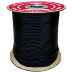 HTP Climbing Rope 7/16 in. x 600 ft. Black-CWC 349306