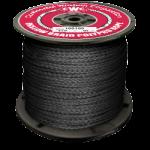 Hollow Braid Polypropylene Rope 1/4 in. x 1000 ft. Black-CWC 100306