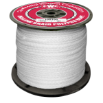 Hollow Braid Polypropylene Rope 1/4 in. x 1000 ft. White-CWC 100040