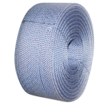 """CWC BLUE STEEL™ Rope - 1-3/4"""" x 600' Purple W/Org Tracer"""